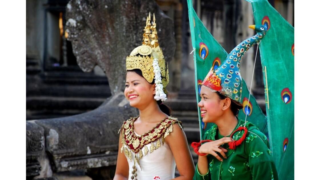 Fée et elfe d'Angkor