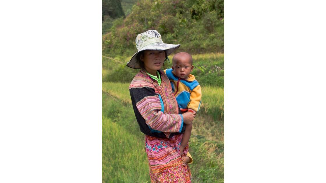 Ethnie au nord Vietnam
