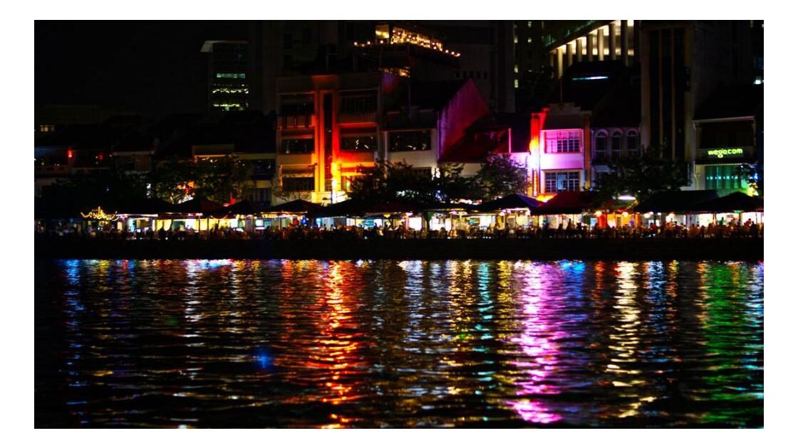 Singapore river side