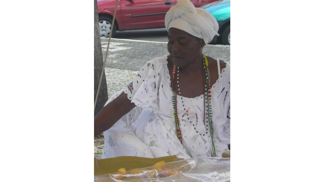 Salvador de Baia: au marché