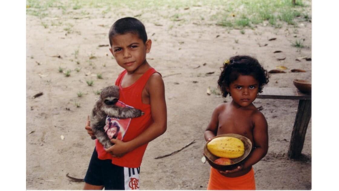 bresil enfants amazoniens