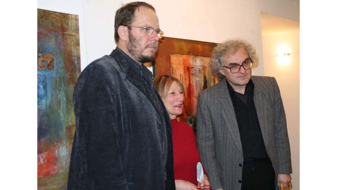 les artistes: peintres et musicien