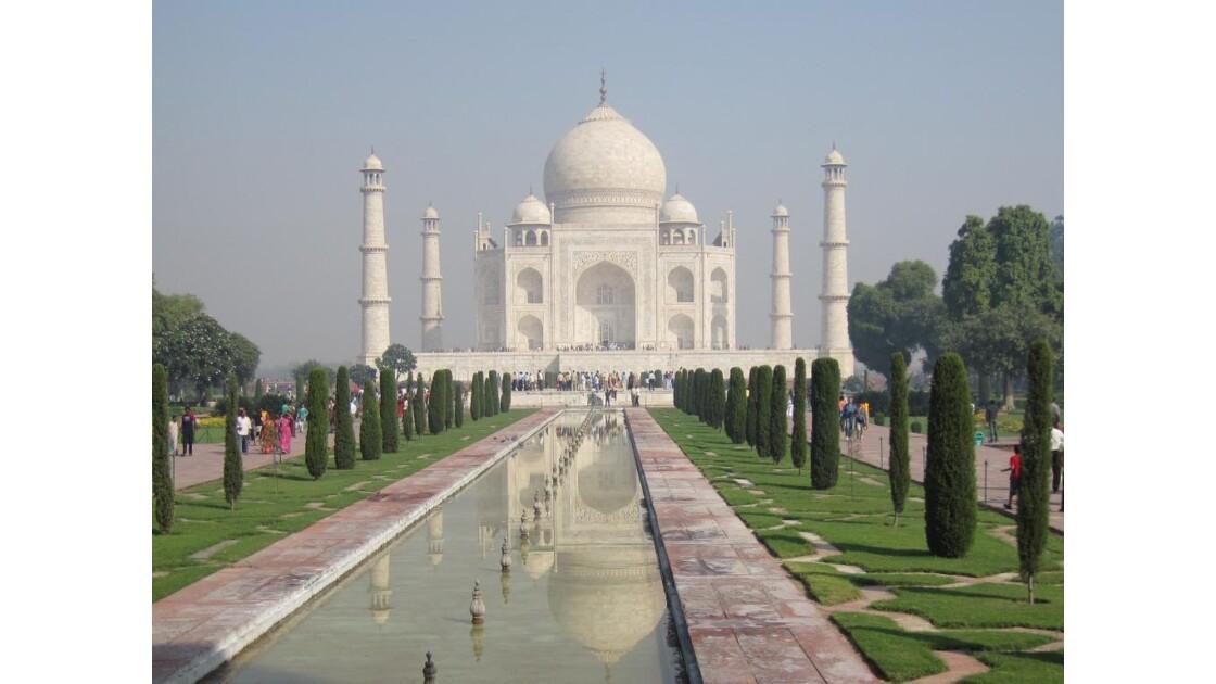 Taj Mahal, le matin
