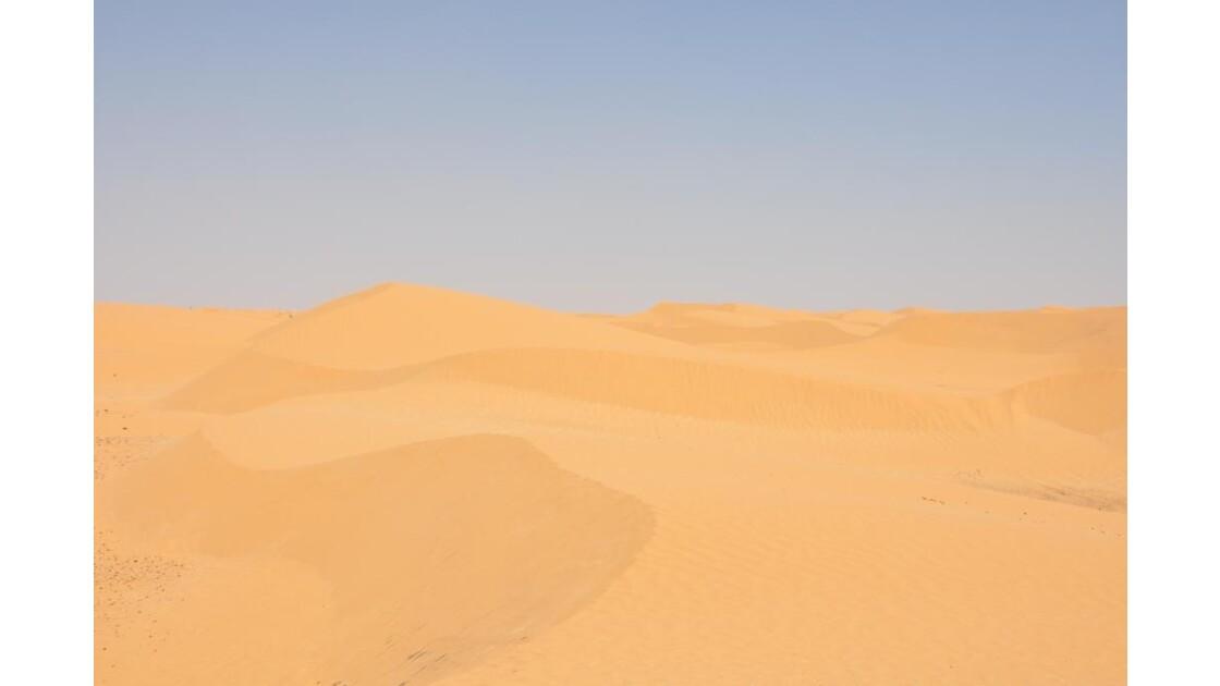 dunes désert Saharien