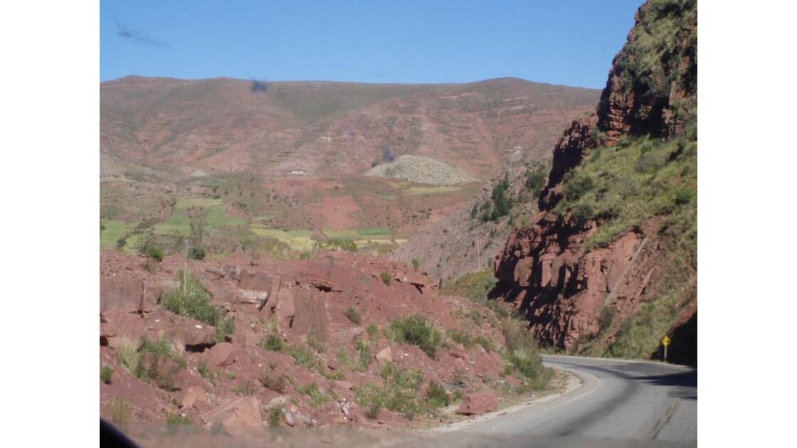 roche rosée Bolivie