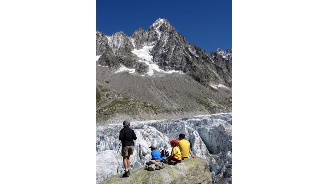Le glacier d'Argentière