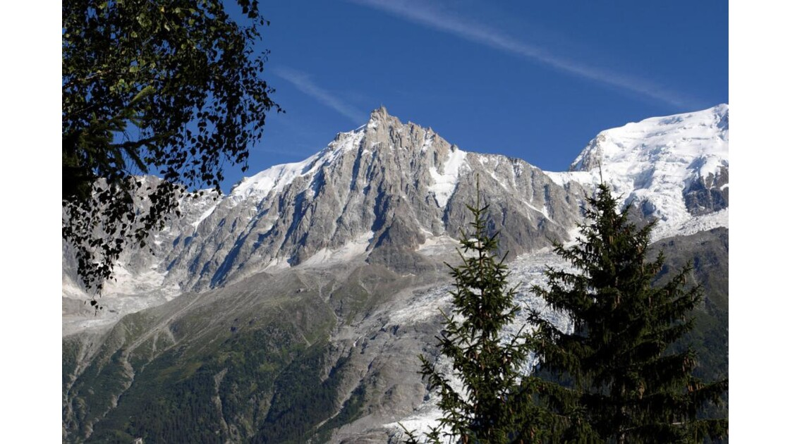 Mont-Blanc depuis le balcon de Merlet