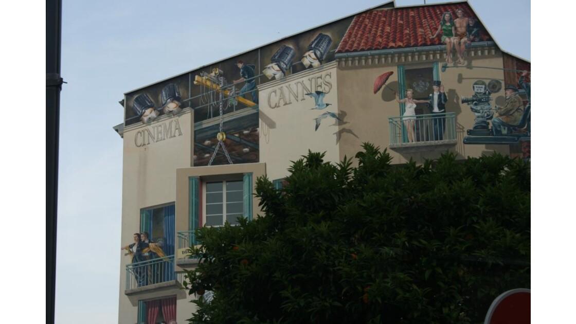 Cannes 2009 mur trompe l'oeil
