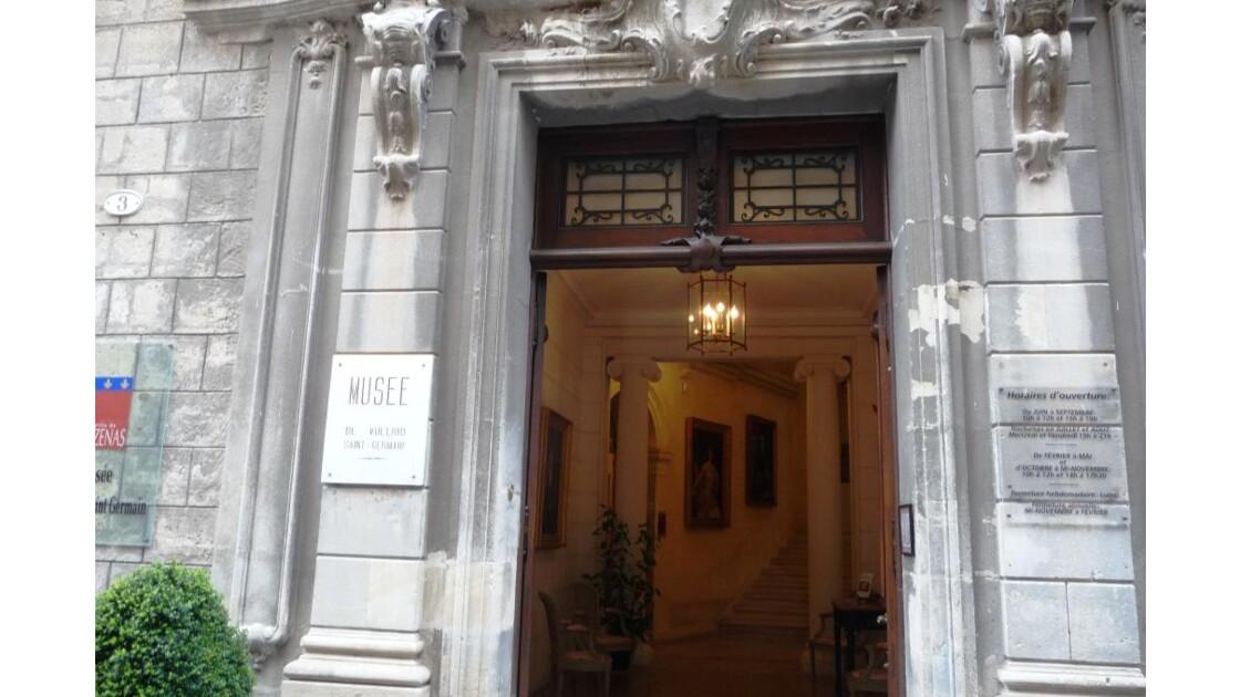 PEZENAS - Musée de VULLIOD -