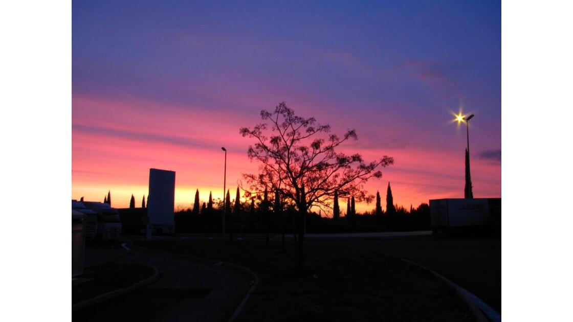 jolie coucher de soleil