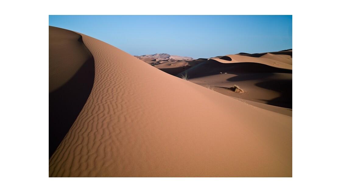 les dunes de l'Erg Chebbi