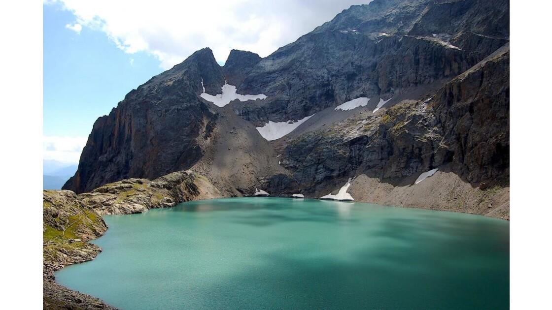 Randonnée au lac de l'Eychauda