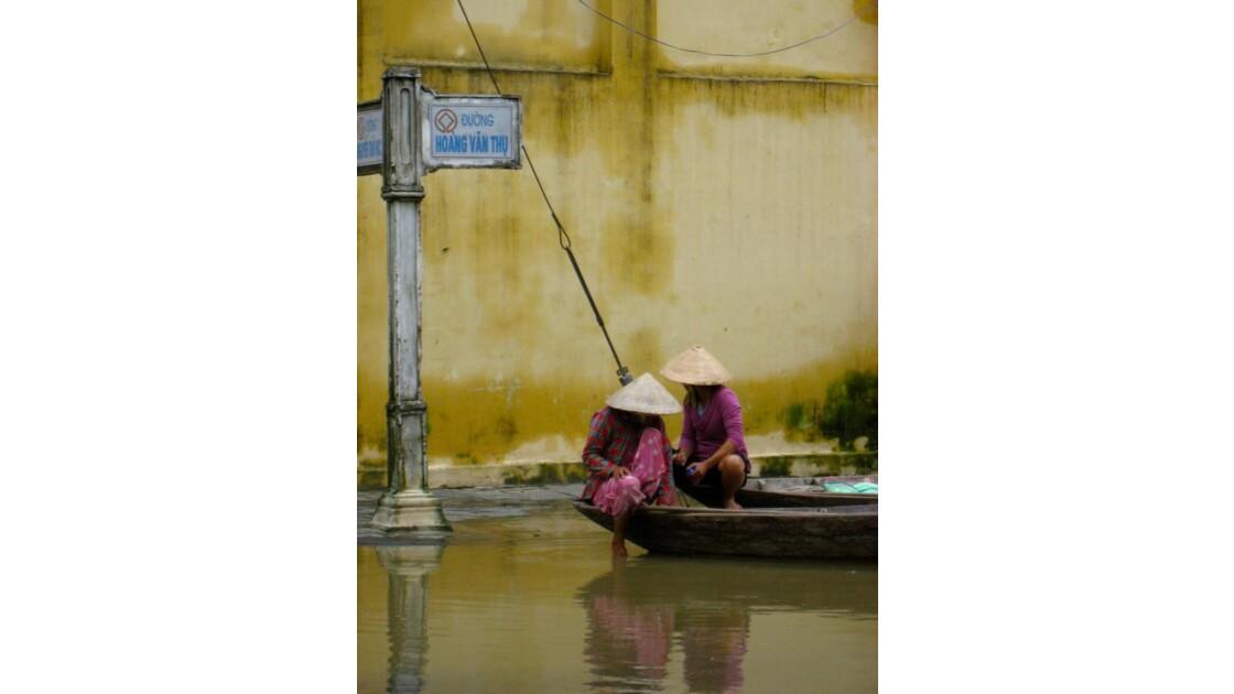 Jour de pluie à Hoi An