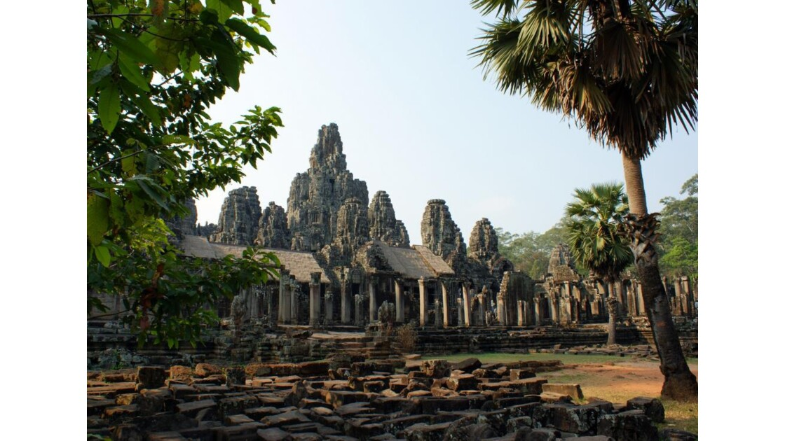 Le Bayon, temple d'Angkor Thom