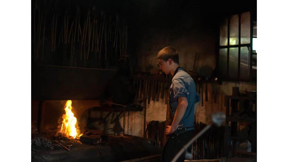 la forge de l'Ecomusée