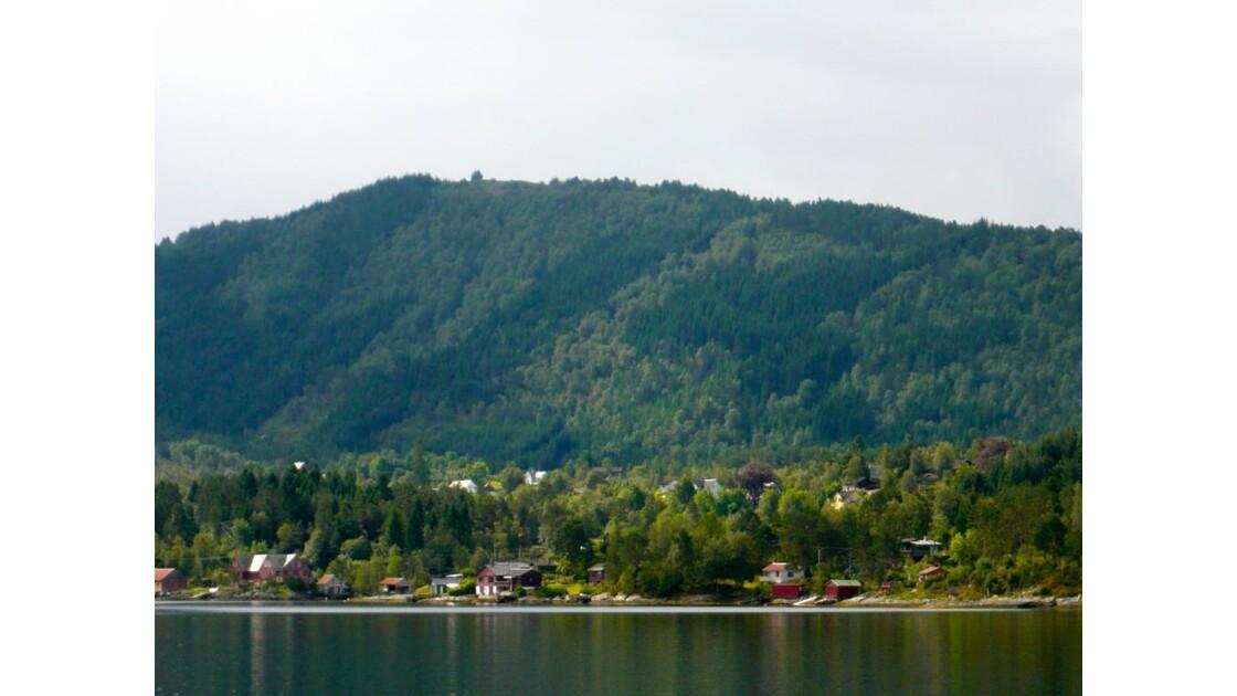 Fjord autour de Bergen