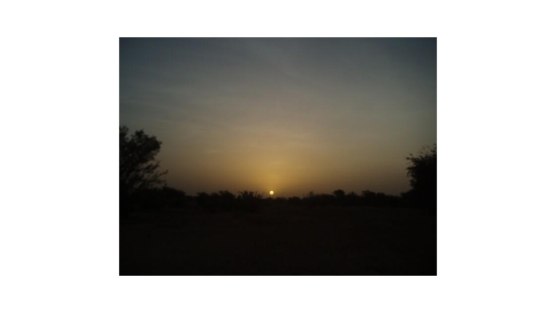 lever du soleil.