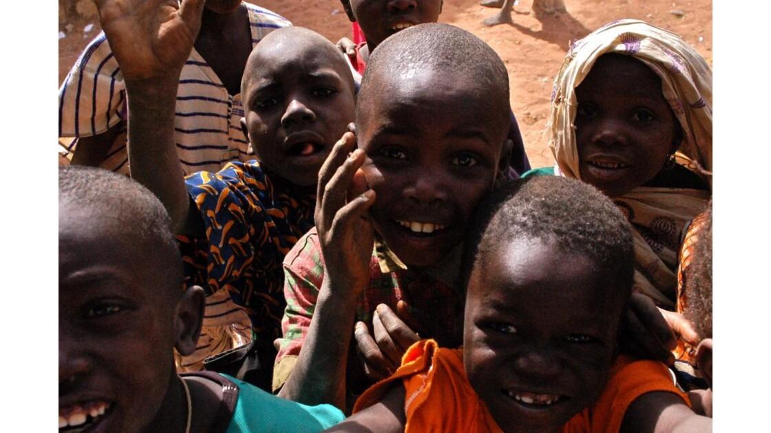 Enfants sourir
