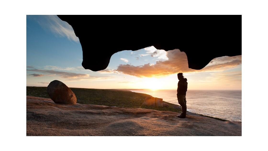Lever du soleil sous Eagle Rock