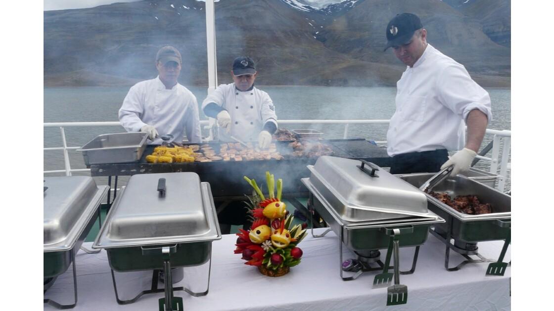 barbecue arctique