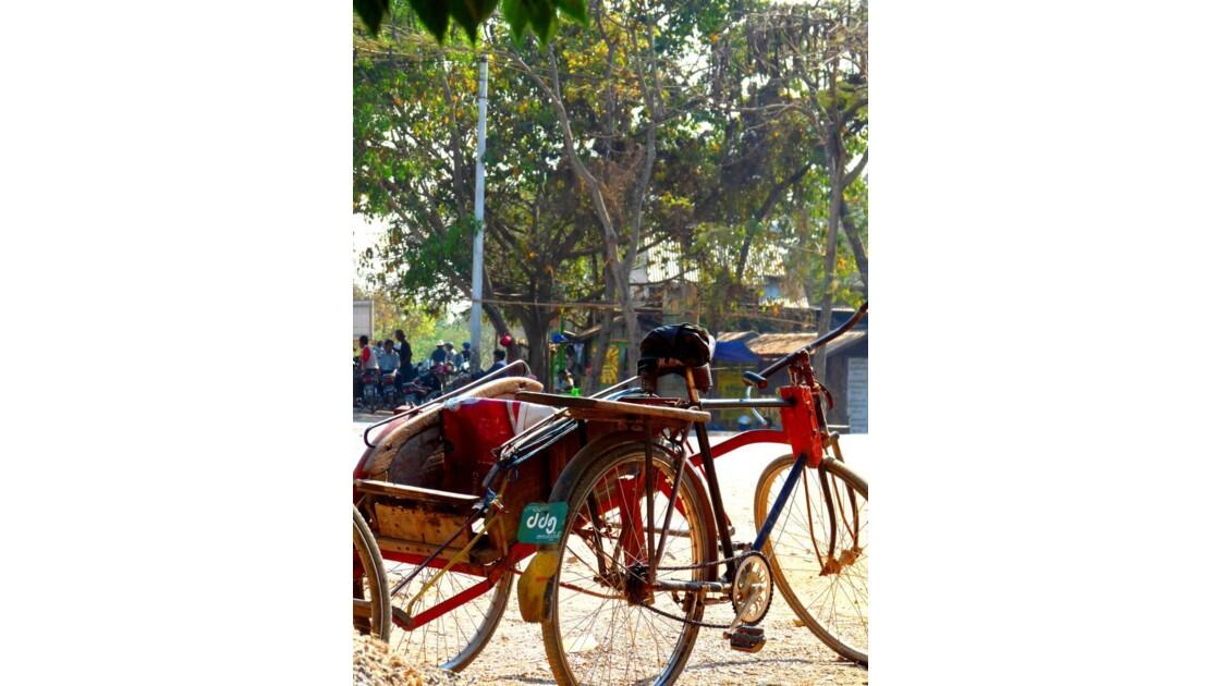 vélo du Myanmar