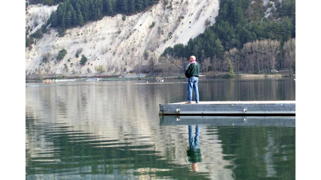 le pêcheur et son reflet