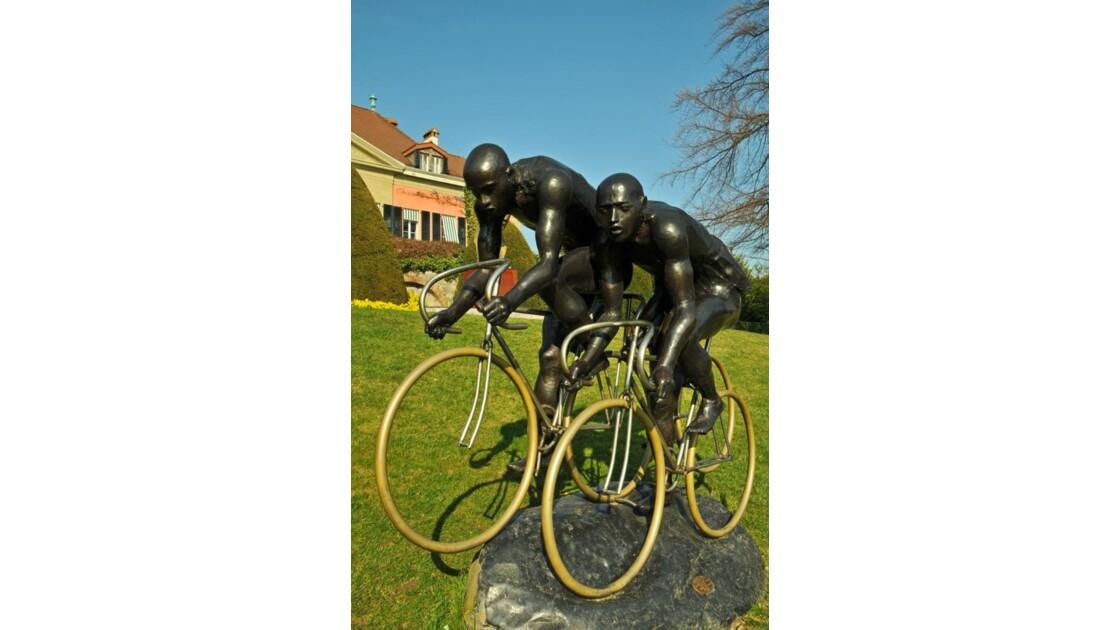 les coureurs cyclistes