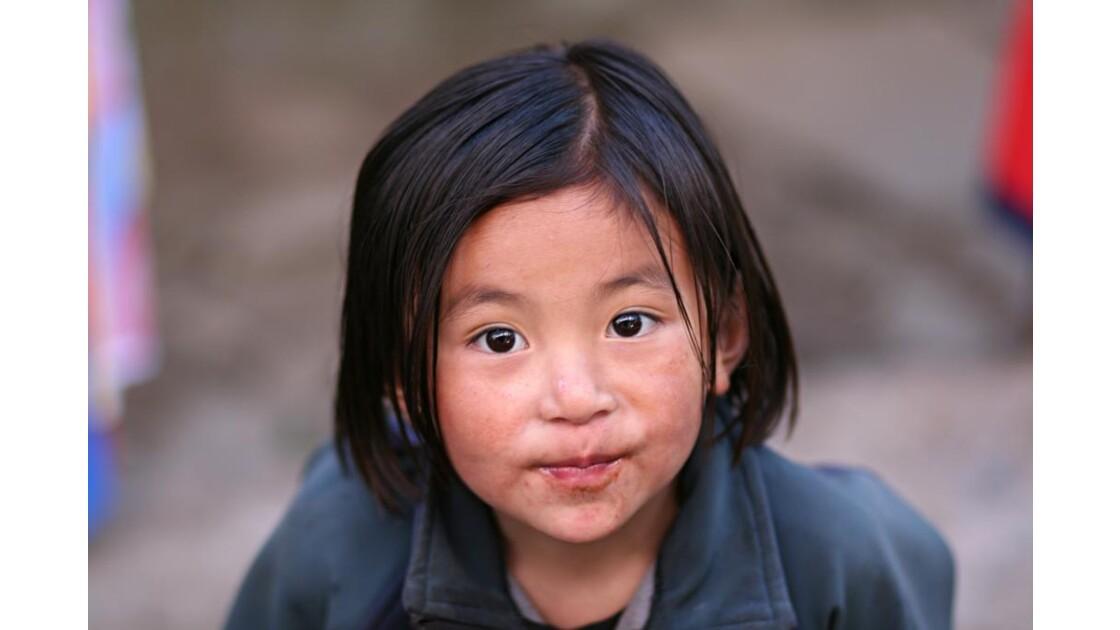Enfant à Lukla (2)