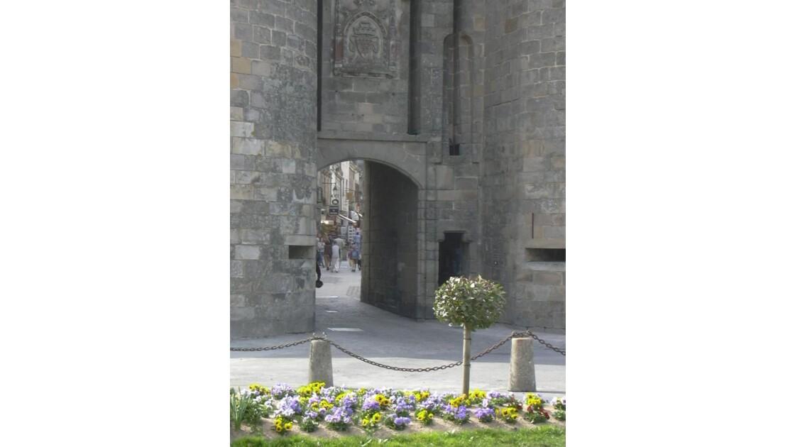 Détail de la Porte st Michel - Guérande