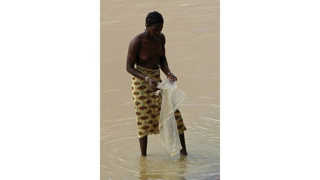 Mali :  les rives du Niger