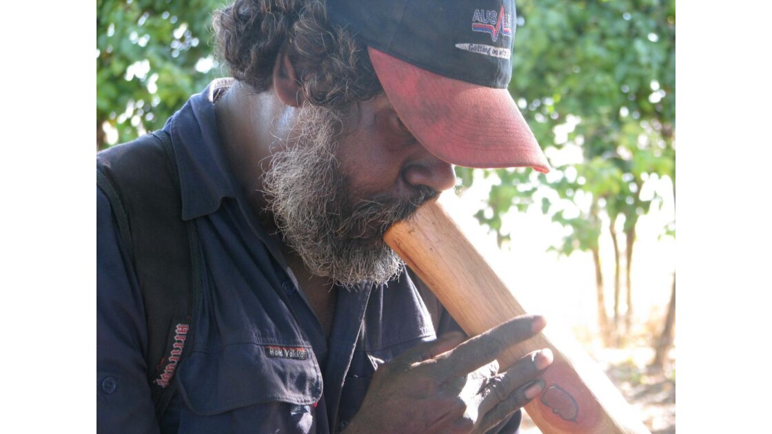 une rencontre du peuple aborigene