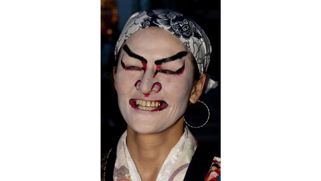 Danseur japonais au festival TachiNebuta