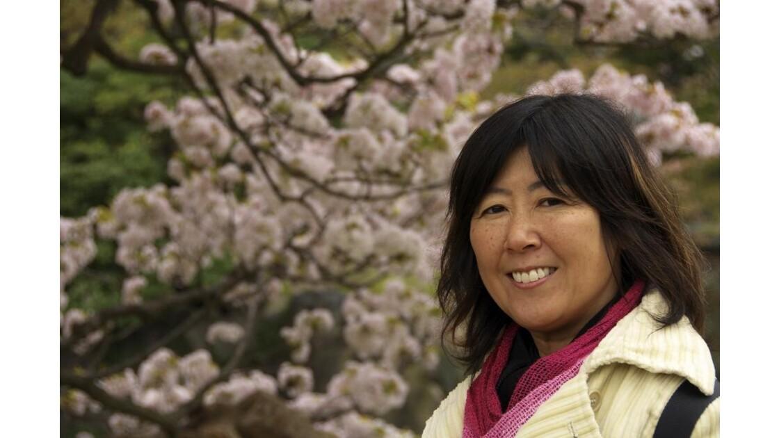 Akiko à Kyoto