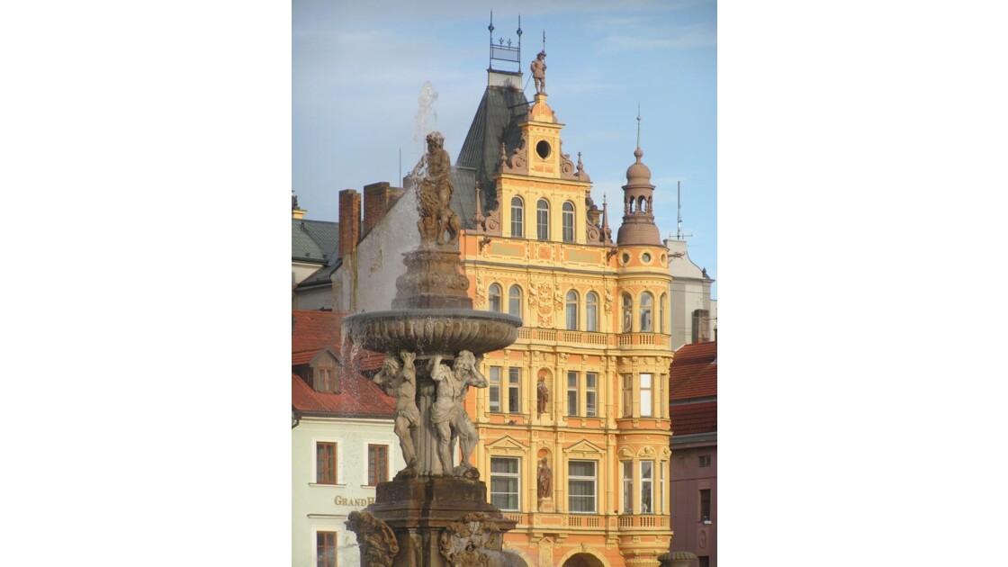 place centrale de Ceske Budojevice