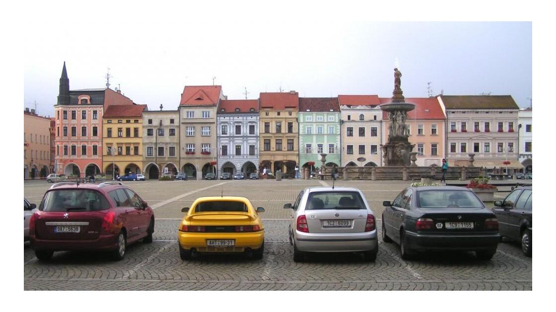 Ceske Budejovice place centrale