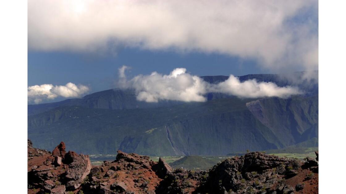 Vue du Cratère Comerson