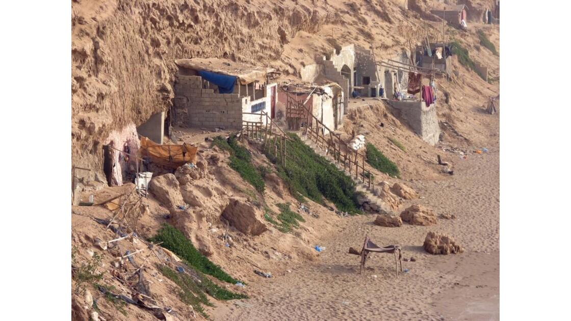 Habitations troglodytiques,Tifnit