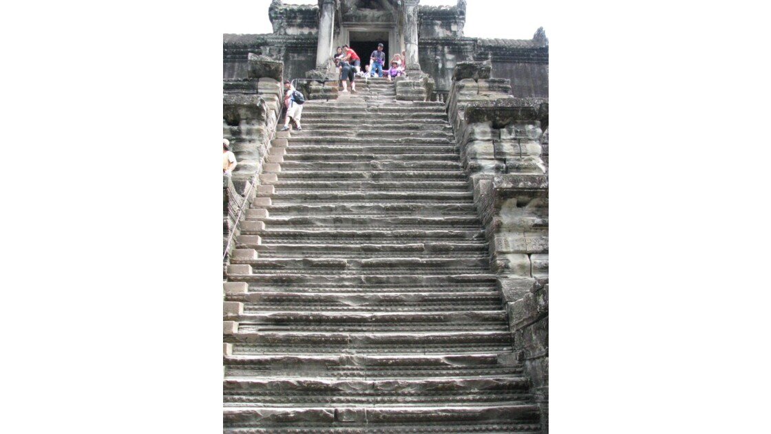 Angkor Vat Escalier