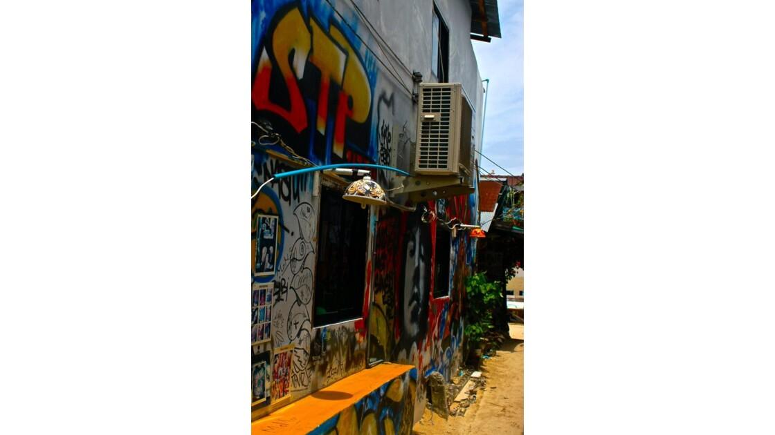 Graphiti à Koh Phi Phi