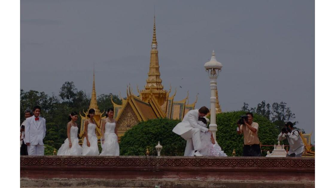 Mariage à Phnom Penh