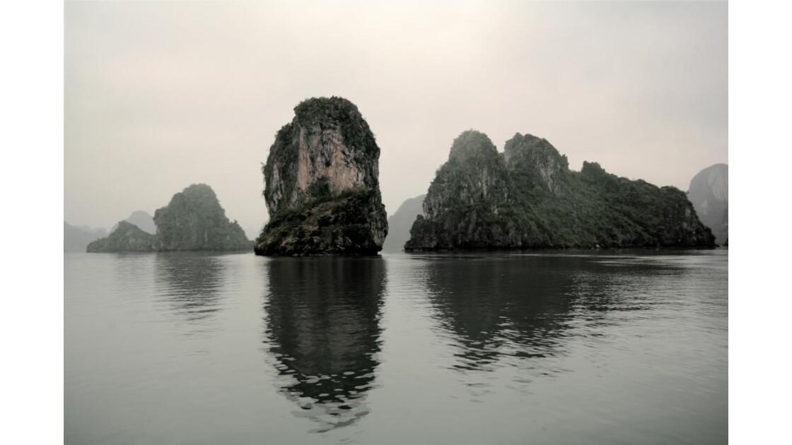 Baie d'Halong en hiver