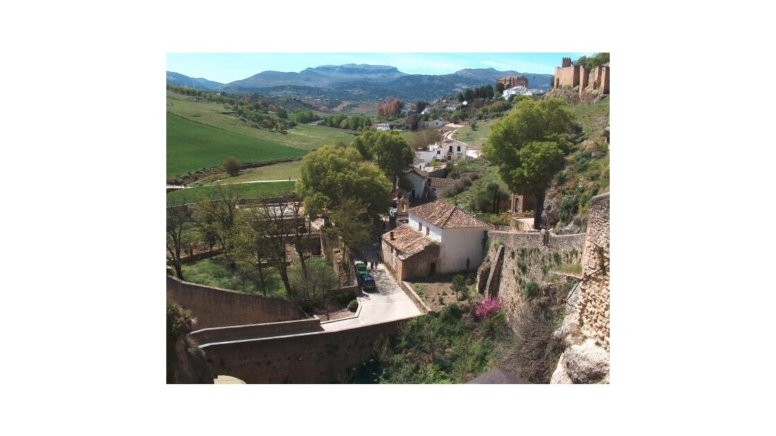 Malaga, Ronda, remparts