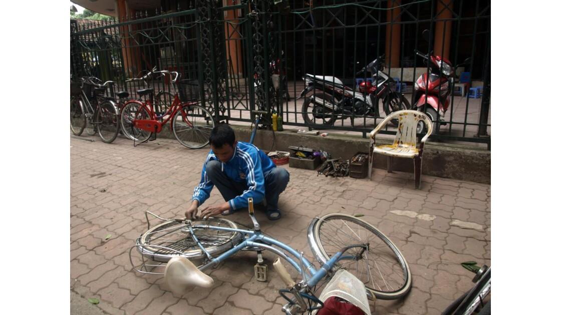 reparateur de vélos