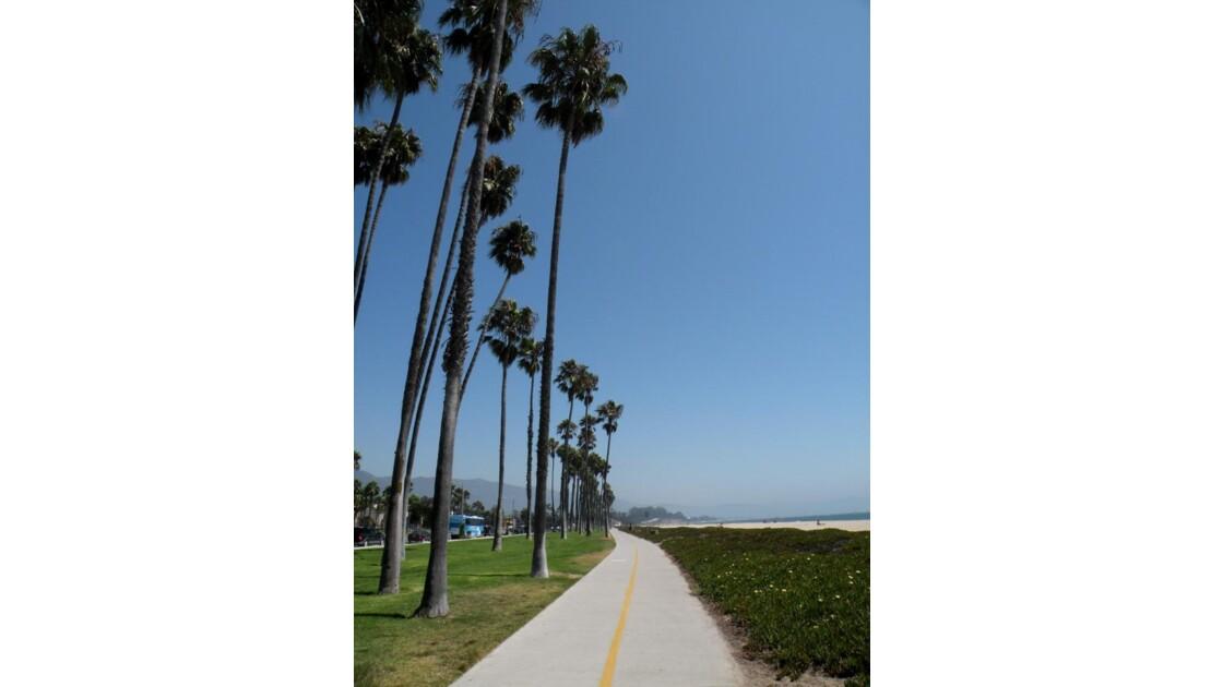 Piste cyclable, Santa Barbara, CA