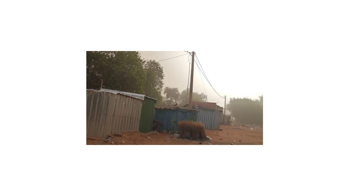 Niamey - Après la tempête de sable