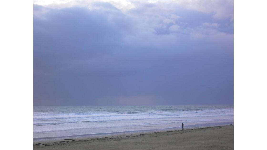 seul face à la mer