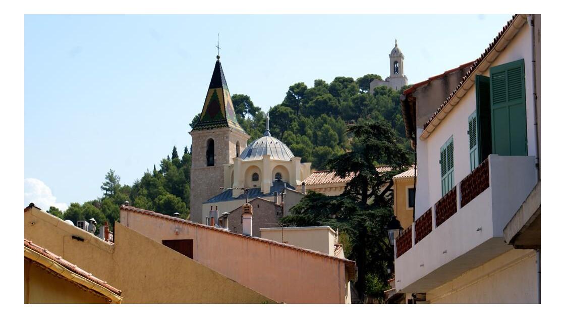Vue sur l'Église Saint Sébastien