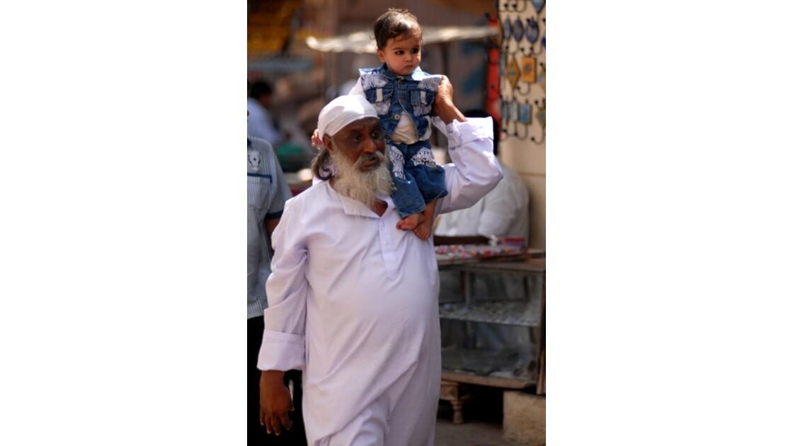 Pushkar - Grand père et moi