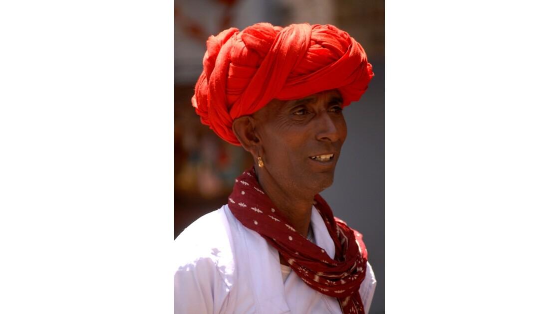 Pushkar - Un pèlerin de Bilwara