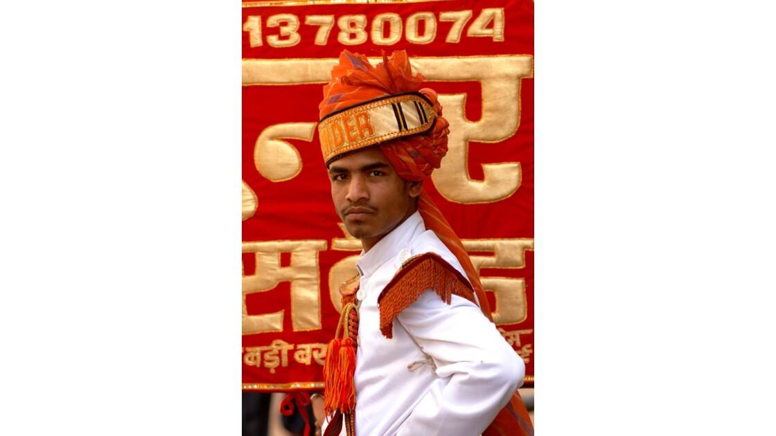 Pushkar - Un membre de Sunder Band